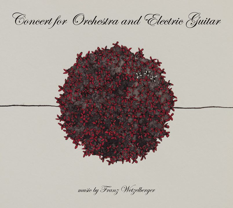 CD cover Concert for Orchestra and Electric Guitar